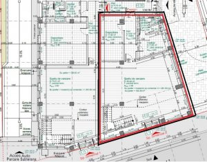 Inchiriere spatiu comercial 261mp open space, 2 intrari, zona NTT Data