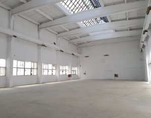 Industrial space for rent, 600m2 in Cluj-napoca, zone Dambul Rotund